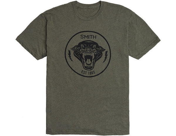 Smith Blacklight SS T-Shirt Lieutenant Green Smith Optics Graphic Tee