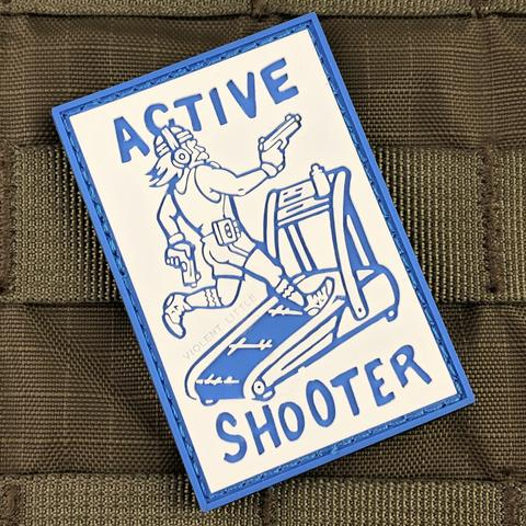 Violent Little Active Shooter Morale Patch