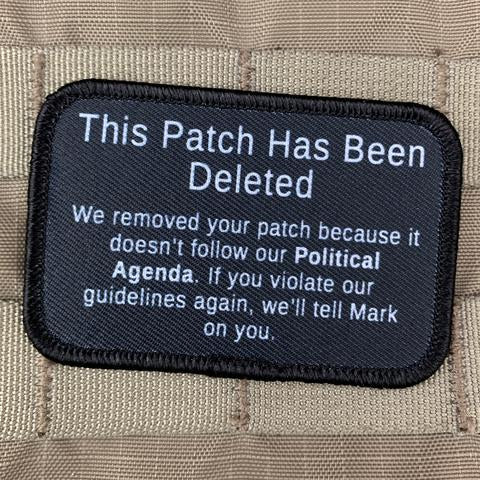 Violent Little This Patch Has Been Deleted Morale Patch