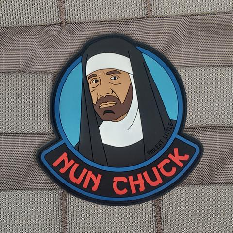 Violent Little Nun Chuck Morale Patch