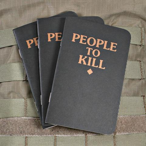 Violent Little People to Kill Memo Book 3 pack