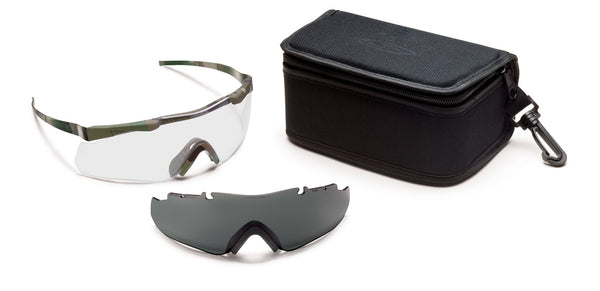 Smith Aegis Echo Eyeshields Field Kit, Multicam Smith Optics Shooting Glasses