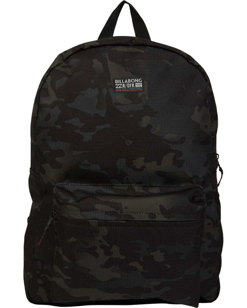 Billabong All Day Multicam Black Backpack