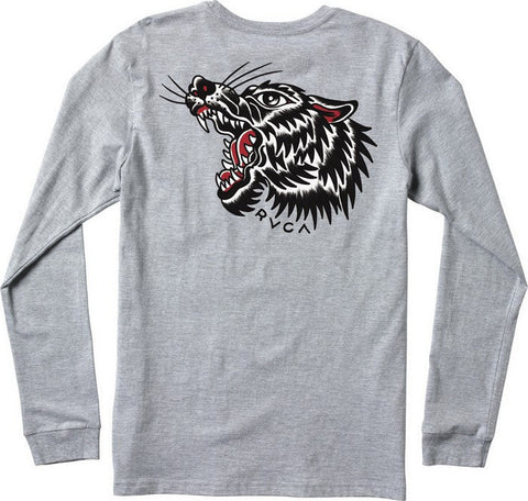 RVCA Bert Wolf Long Sleeve T-Shirt RVCA Long Sleeve Shirt
