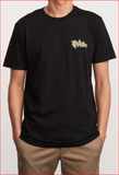 RVCA Redondo Monster Black Short Sleeve Tee - NO RETURNS