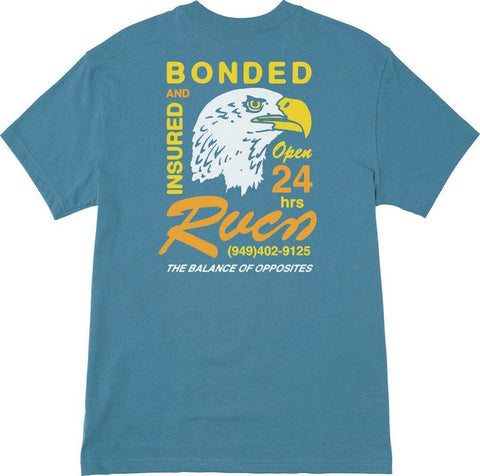 RVCA Bonded Heavy Weight T-Shirt - MD & LG ONLY! - NO RETURNS