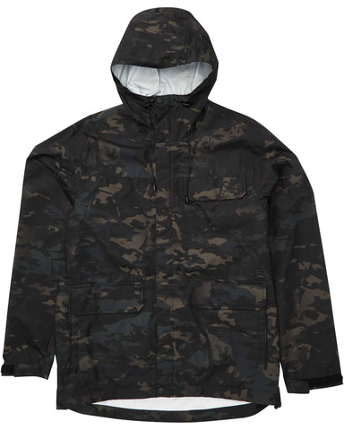 Billabong Bunker Multicam Black Rain Jacket
