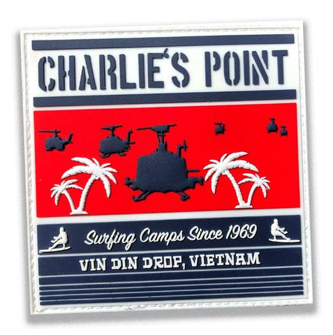 30 Seconds Out Charlie's Point Morale Patch