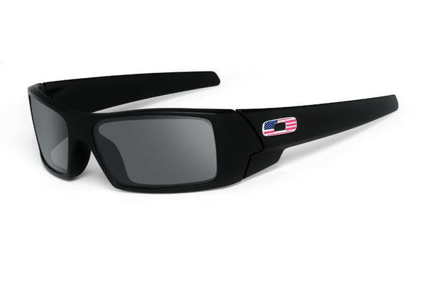 Oakley Gascan Matte Black, US flag Oakley Eyewear