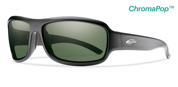 Smith - Drop Elite - Chromapop Polar Gray Green Smith Optics Sunglasses