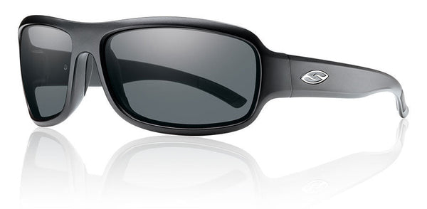 Smith Drop Tactical - Matte Black w/ Gray Mil-Spec Smith Optics Sunglasses