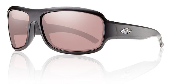 Smith Drop Tactical - Matte Black w/ Ignitor Mil-Spec Lens Smith Optics Sunglasses