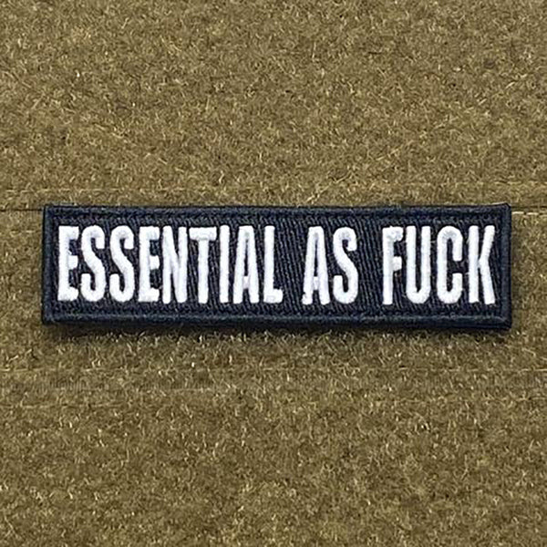 Tactical Outfitters Essential As Fuck Morale Patch