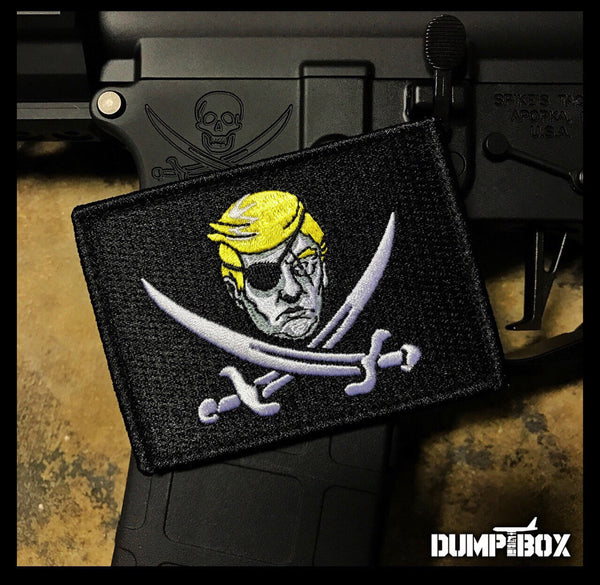 Dump Box Calico Trump Morale Patch