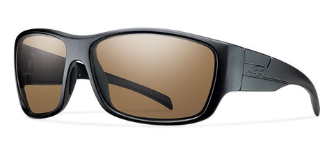 Smith Elite Frontman Black Polarized Brown Lenses Smith Optics Sunglasses