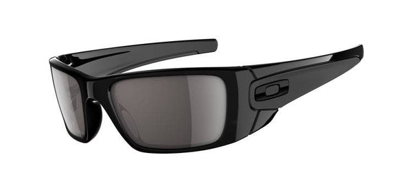 Oakley Fuel Cell Polished Black Grey Lens Oakley Shooting Glasses