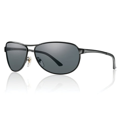 Smith Gray Man Tactical - Matte Black w/ Gray Mil-Spec Lens Smith Optics Sunglasses
