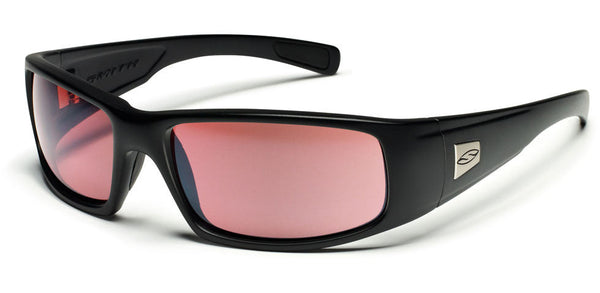 Smith Hideout Tactical Sunglasses, Black Frame/Ignitor Lens Smith Optics Sunglasses