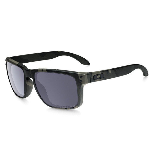 Oakley Holbrook Multicam Black with Grey Polarized | Tactical Distributors