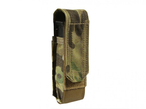 BFG HELIUM WHISPER SINGLE PISTOL MAG, LIGHT OR MULTITOOL POUCH WITH FLAP Blue Force Gear Ammunition Cases & Holders