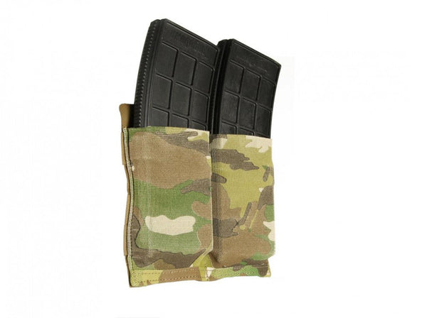 BFG HELIUM WHISPER TEN SPEED™ DOUBLE M4 MAGAZINE POUCH Blue Force Gear Ammunition Cases & Holders