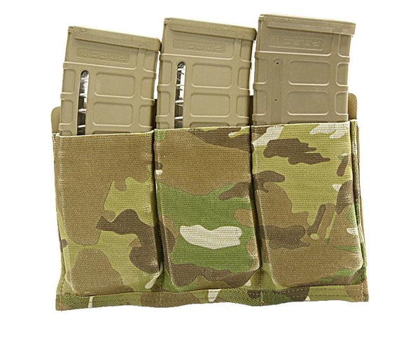 BFG HELIUM WHISPER TEN SPEED™ TRIPLE M4 MAGAZINE POUCH Blue Force Gear Ammunition Cases & Holders - 1