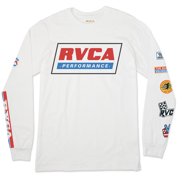 RVCA Indianapolis Long Sleeve Tee -LG ONLY- NO RETURNS