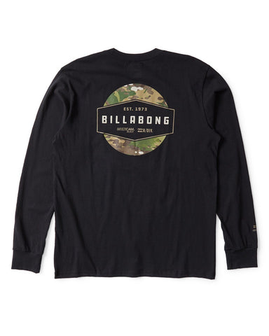 Billabong Multicam Label Long Sleeve