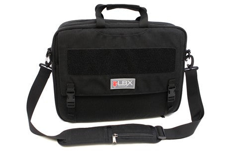 LBX Conceal and Carry Messenger Bag Black LBX Messenger Bag - 1