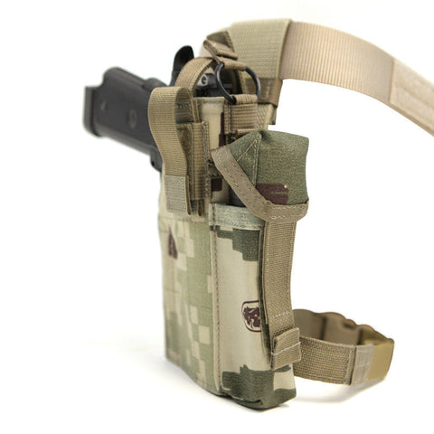 LBX Drop Leg Holster in Project Honor Camo LBX Gun Holsters