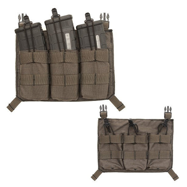 LBX Triple M4 Panel LBX Ammunition Cases & Holders