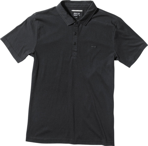 RVCA Sure Thing Polo Shirt RVCA Short Sleeve Shirt - 2
