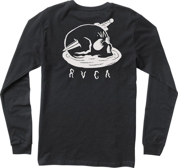 RVCA Migraine LS T-Shirt RVCA Long Sleeve Shirt - 1