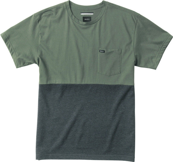RVCA Halfway Crew Knit Shirt RVCA Short Sleeve Shirt - 1