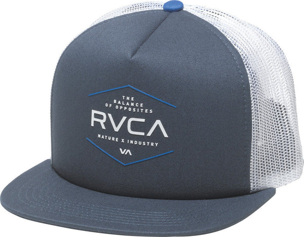 RVCA VA Industrial Trucker Hat Midnight RVCA Hats