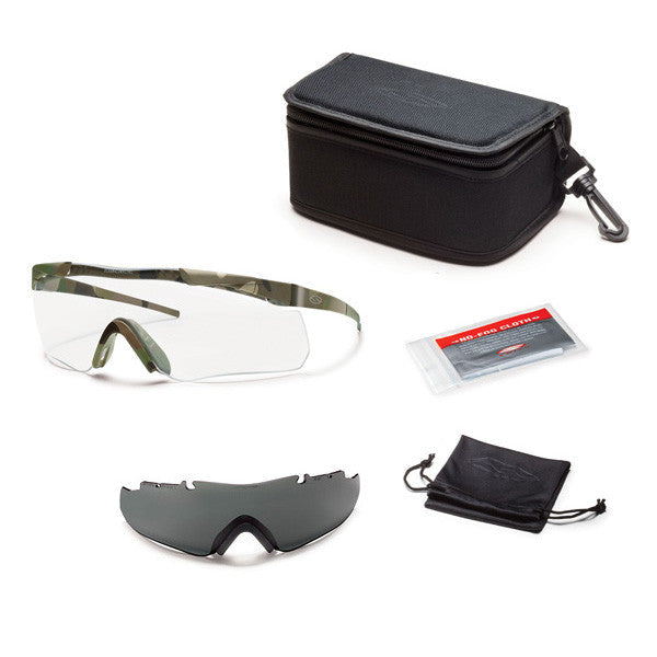 Smith Aegis Echo Compact Eyeshields Field Kit Smith Optics Shooting Glasses - 1