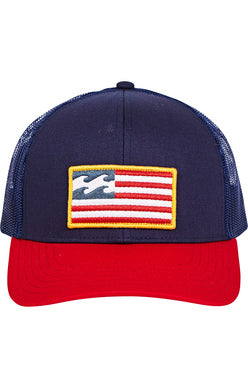 Billabong 'Merica Trucker Hat - NO RETURNS