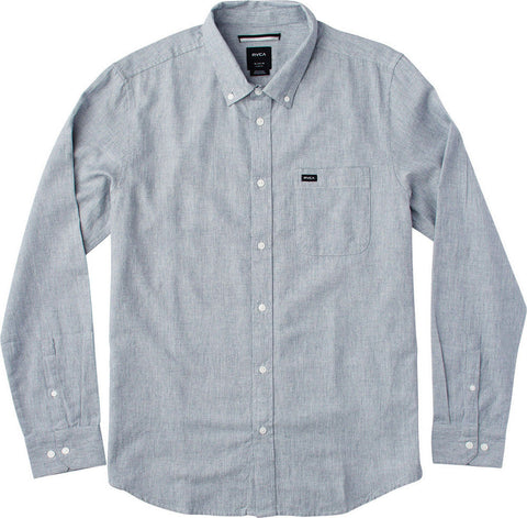RVCA THAT'LL DO Static Shirt 2XL DENIM ONLY!