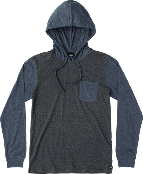 RVCA Set Up Hood Curren Edition Long Sleeve T-Shirt
