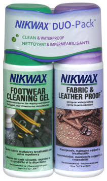 Nikwax-Fabric & Leather Duo Nikwax Apparel Care