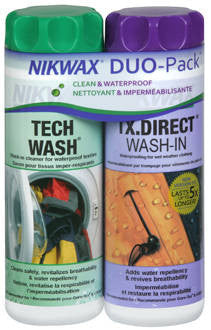 Nikwax-Hardshell Duo Pack-10oz Nikwax Apparel Care