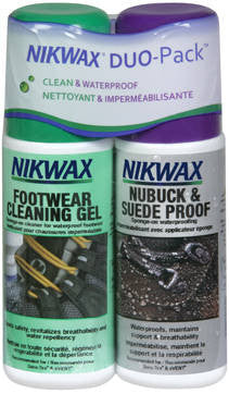 Nikwax-Nubuck & Suede Duo Pack-4.2oz Nikwax Apparel Care
