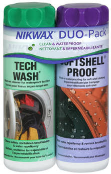 Nikwax Softshell DuoPack Nikwax Apparel Care