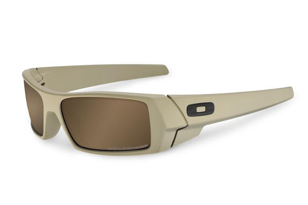 Oakley SI Cerakote Gascan Desert Sage Tungsten Iridium Polarized Lens Oakley Shooting Glasses