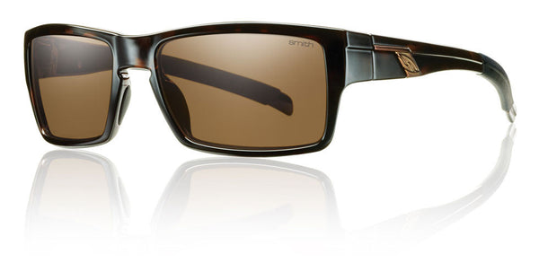 Smith OUTLIER Frame Tortoise, Polar Brown Lens Smith Optics Sunglasses
