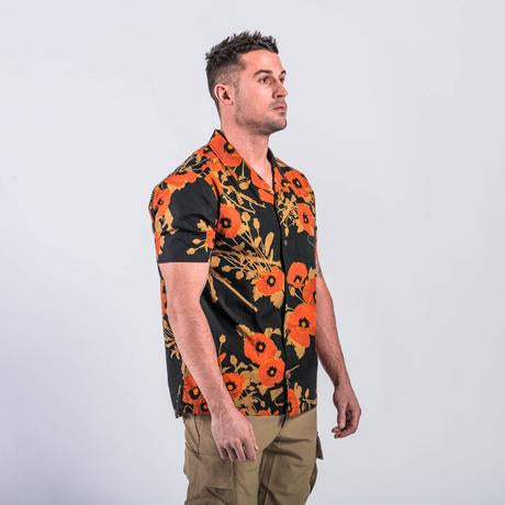 OTTE Gear x Bawidamann Poppies of War Aloha Shirt