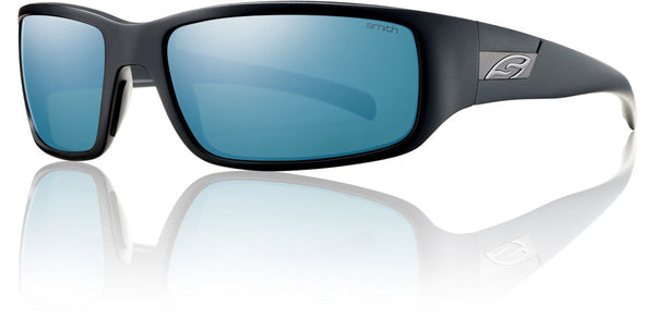 Smith PROSPECT Frame Matte Black, Polar Blue Mirror Lens Smith Optics Sunglasses
