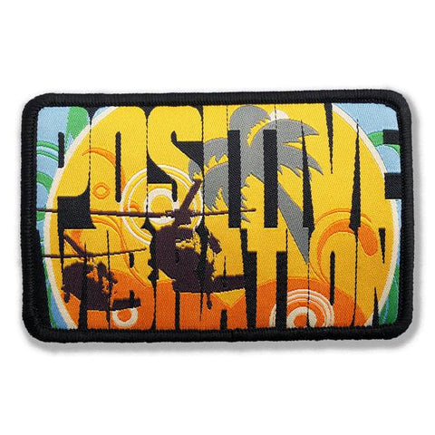 30 Seconds Out Blackhawk Positive Vibration Morale Patch