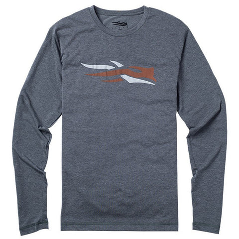 Sitka Long Sleeve Logo Tee