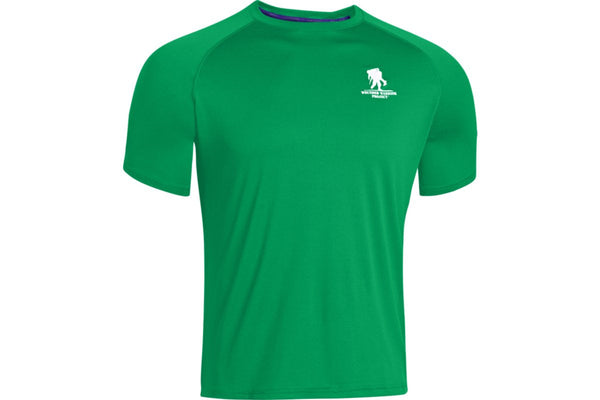 UA Tech Wounded Warrior Project T-Shirt Under Armour Short Sleeve Shirt - 1